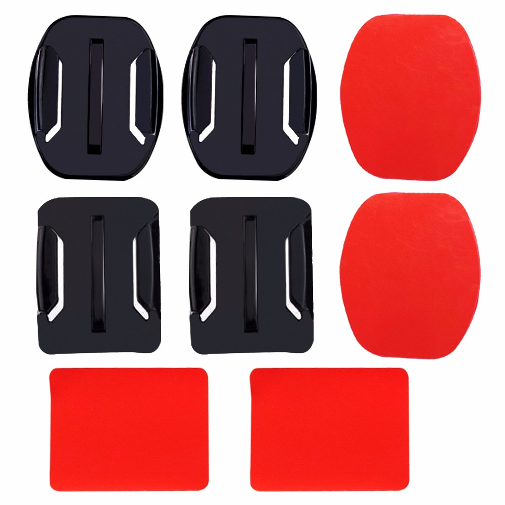 image for SHOOT Double Side Sticker With Flat And Caved Surface Base For Gopro H