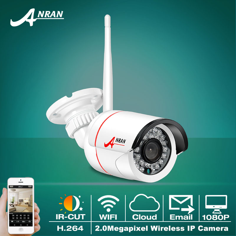 Фотография Onvif P2P 1080P IP Camera WIFI H.264 HD Video Surveillance Camera Remote Outdoor Wireless CCTV IR Night Vision Security Camera