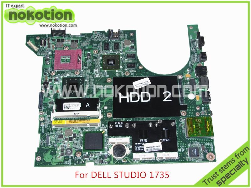 CN-0H274K H274K For dell studio 1735 laptop motherboard ATI HD3650 graphics intel PM965 DDR2 Mainboard<br><br>Aliexpress