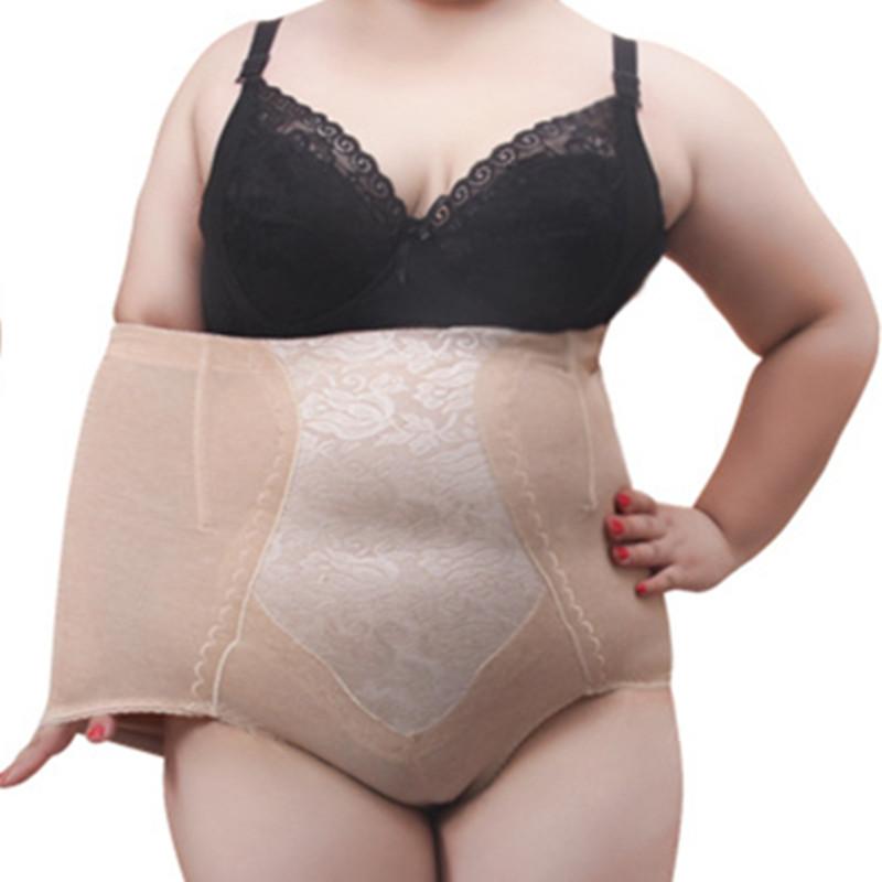 New Arrival Plus Size 5XL Underwears Women Shapers Tall waist Tuck corset gauze mother briefs Body-hugging maternal belly