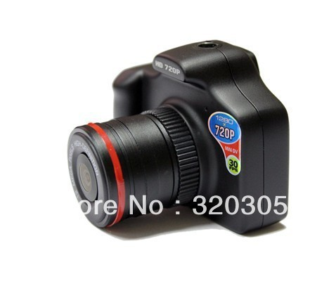 720P 30FPS Vehicle Black Box Car DVR Mini Digital Camera With Retail Package Q8 Free Shipping