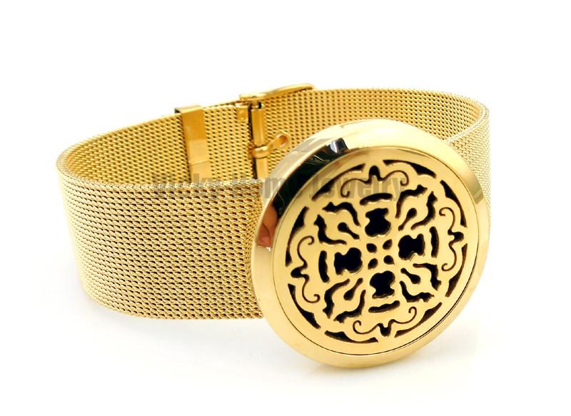 VH-PDL157-21 Diffuser Locket Bracelet