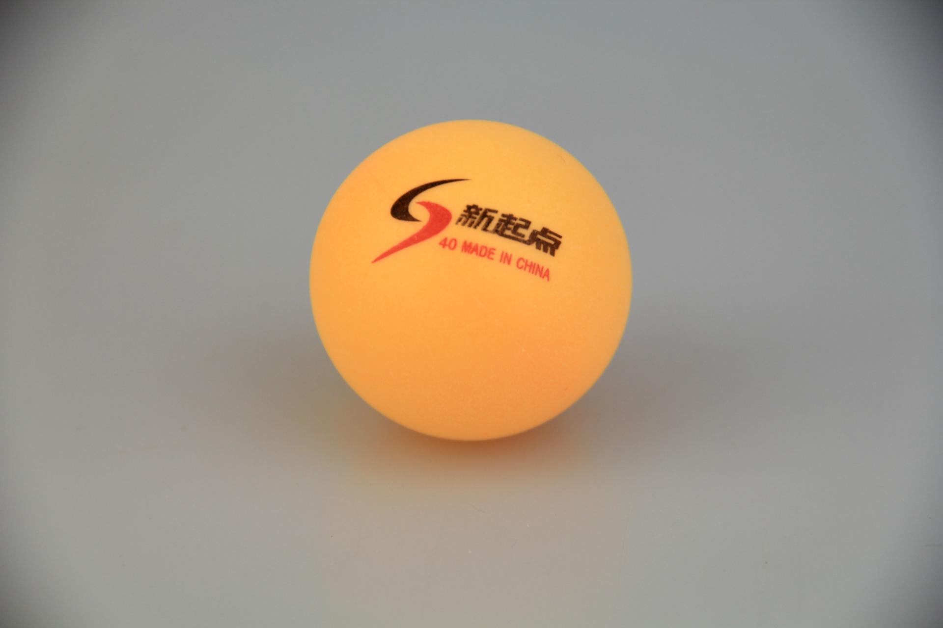 New 10 Pcs Tennis White Ping Pong Balls 4cm Orange Table Tennis Balls(China (Mainland))