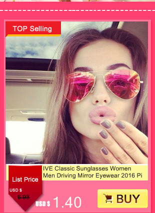 IVE Wholesale 2016 Luxury Women Sunglasses Fashion Round Ladies Vintage Brand Designer Oversized Female Sport Sun Glasses KD9556