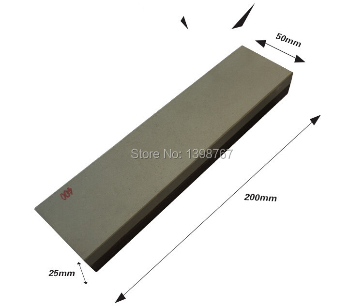 Buy 1PC Double sided Knife Sharpening Stone Boron Carbide Whetstone grit 400 800 free shipping cheap