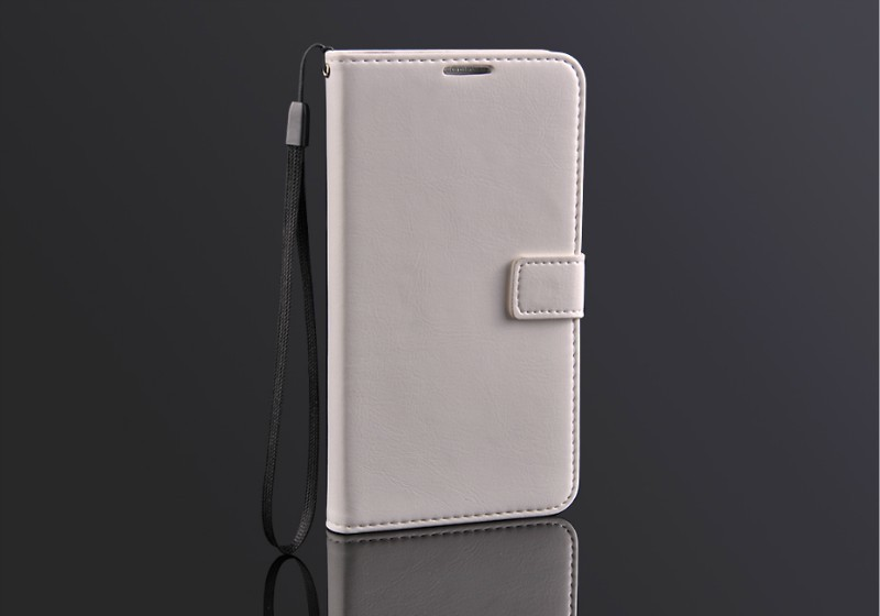 Smooth high quality PU card can be inserted stent wallet mobile phone sets for Samsung Galaxy Note3 N9000