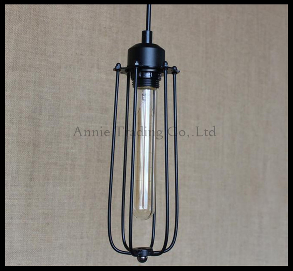 industrial art decro style retro lustre pendant lights vintage stair hanging lighting lamp long. Black Bedroom Furniture Sets. Home Design Ideas