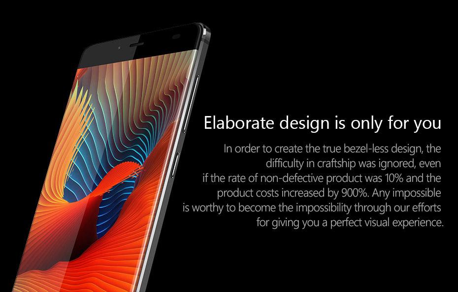 Original Elephone S3 Smart phone 4G LTE Mobile Phones Octa Core  Android 6.0 cell phones 5.2 Inch FHD Fingerprint ID Bezel Less