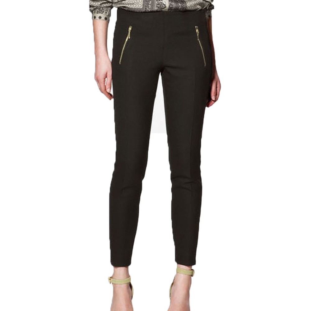 Seasonless Side-Zip Wide Leg Pants: Seasonless pants with a great fit and great style are versatile wardrobe essentials. Back darts and a contour waistband. Back darts and a contour waistband. Poly/rayon/spandex; polyester lining.