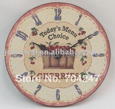 aliexpress buy free shipping antique imitation wood wall clock quality assurance delicate