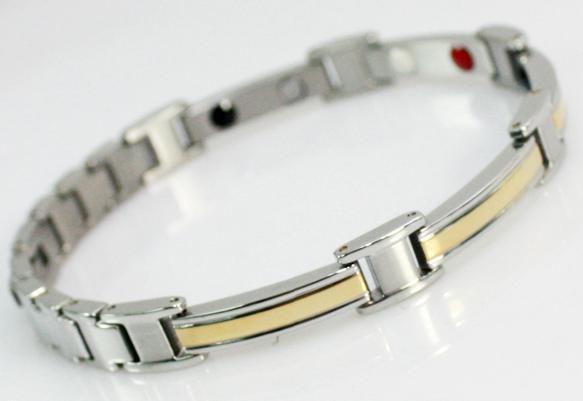 Шарм серебра нержавеющей стали отрицательный ион титана здоровье магнитная терапия ...