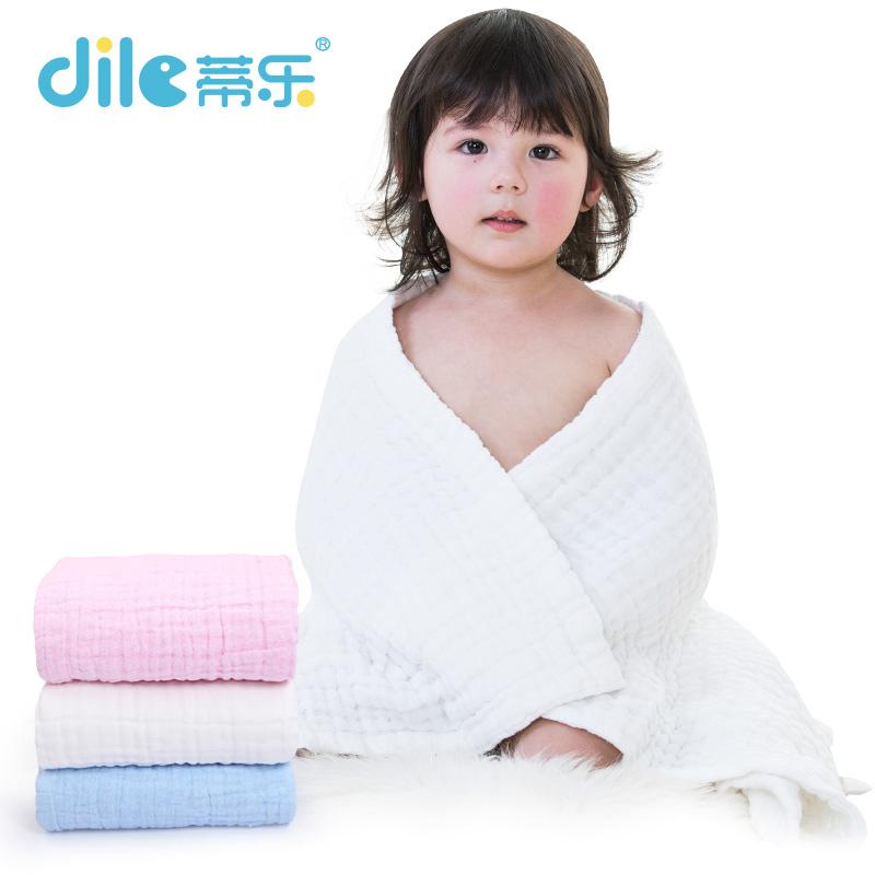 Baby Towel Cotton Breathable Kids Bathrobe Jacquard Toweles Washwear Soft Dry 100*100cm - SHANGHAILEYUN E-COMMERCE CO. LTD store