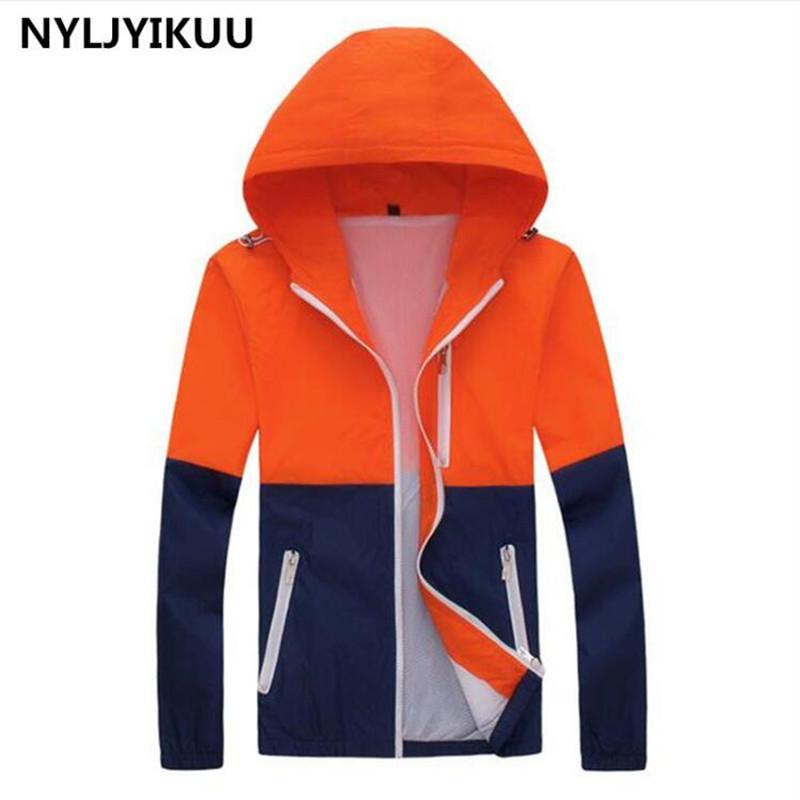 Jackets Women 100% High Quality New Jacket Women's Hooded Women Jacket Fashion Thin Windbreaker Men Outwear good Coat(China (Mainland))