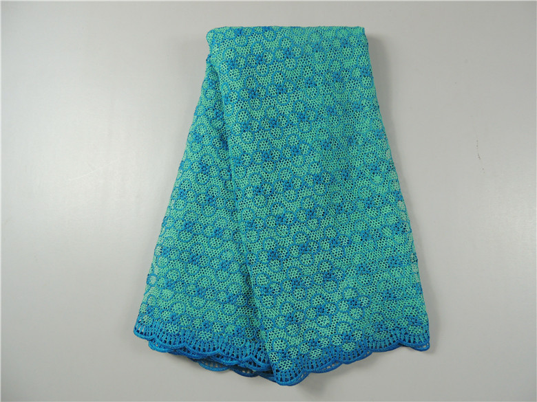 2015 latest African guipure lace fabric 5yards/lot / cupion lace chemical for wedding