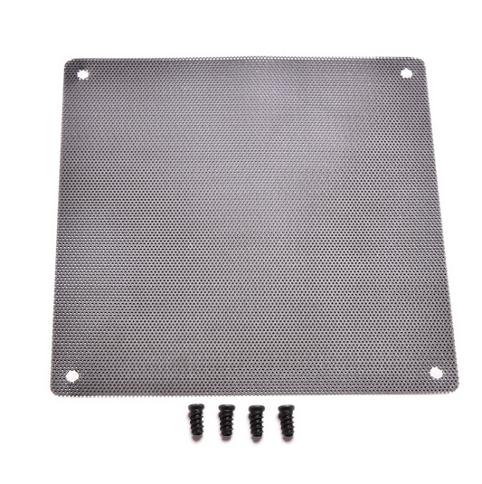 120x120mm Computer PC Dustproof Cooler Fan Case Cover Dust Filter Cuttable Mesh Fits Standard 120mm Fans + 4 Screws 1PC(China (Mainland))