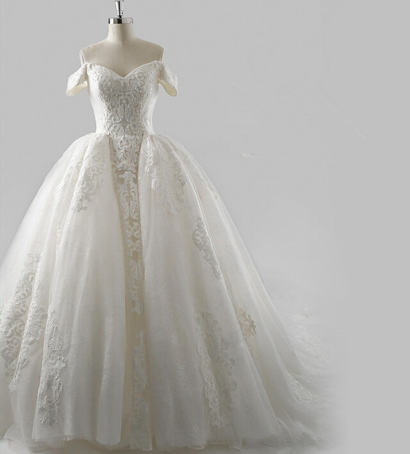 Wedding Dresses Real : Aliexpress buy real picture princess wedding dresses short