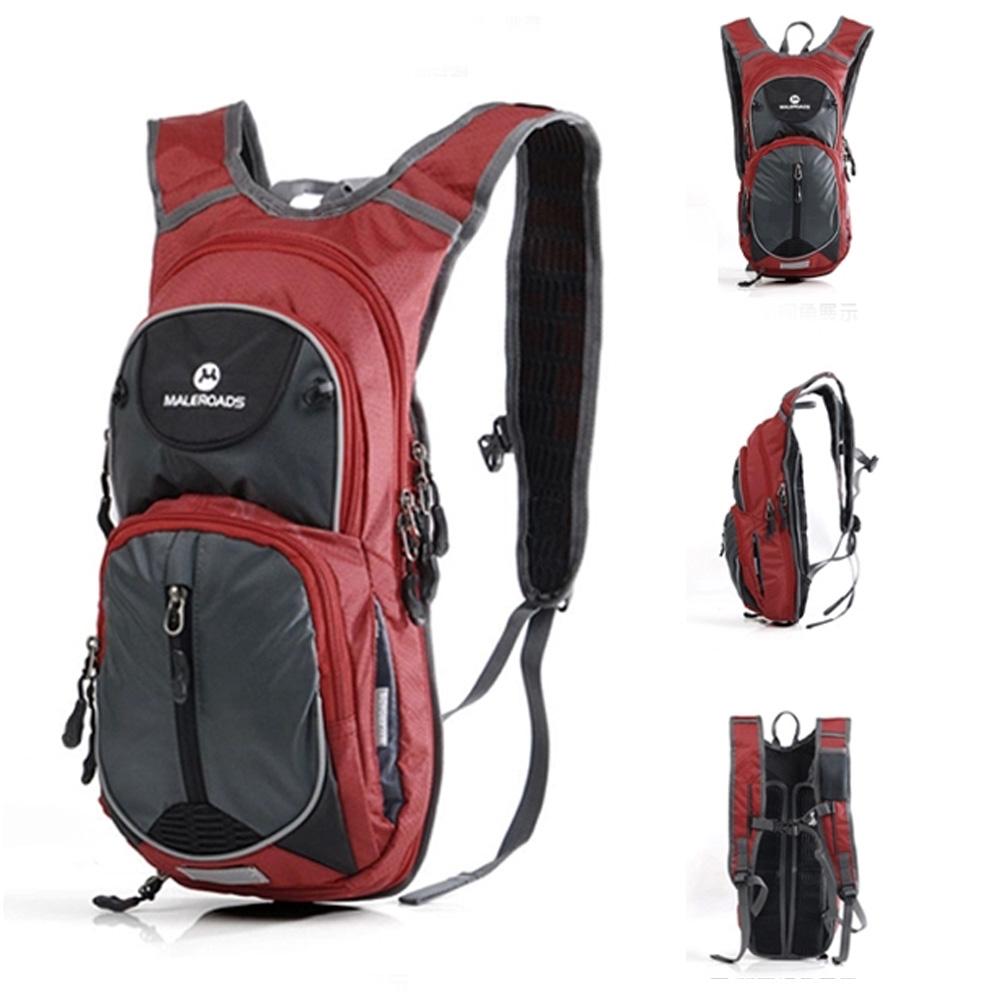 Maleroads Outdoor Climbing Rucksacks Packsack Backpack Cycling Bags Bicycle Bike Road Knapsack Sport Backpack(China (Mainland))