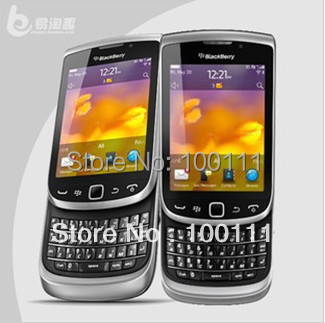 Free DHL Shipping & Original BlackBerry Torch 2 9810 GPS WIFI 5MP JAVA QWERTY Keyboard Unlocked Mobile Phone Free Shipping(Hong Kong)
