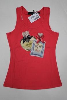 Free shipping 2013 spring and summer fashion rhinestones perfume bottle beaded vest sexy slim basic shirt female