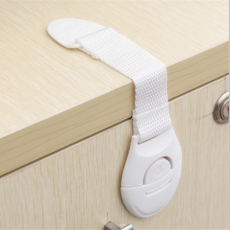 Home Supplies Plastic Safety Protection Anti Lock Cabinet Drawer Protective Straps Equipment For Multi-purpose(China (Mainland))