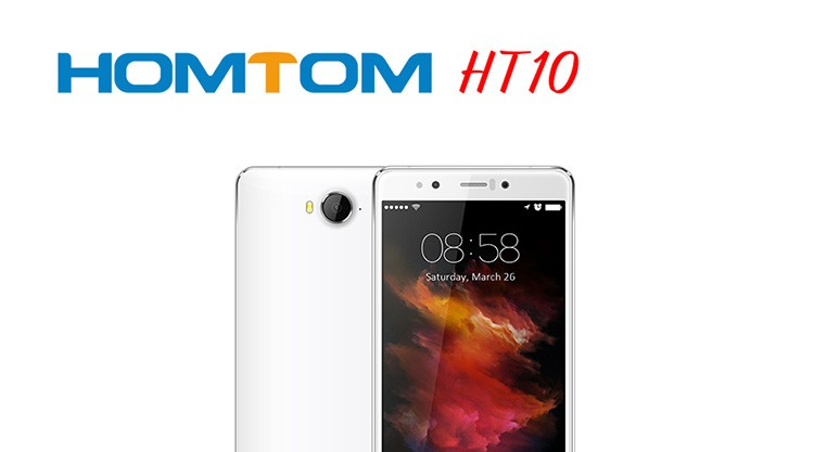 Original Homtom HT10 Helio X20 Deca Core 5.5 Inch FHD Screen Smartphone 4GB RAM+32GB ROM Cell Phone 3200 mAh 4G LTE Mobile Phone