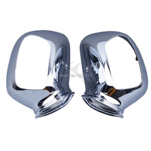 Motorcycle rearview Mirrors Housing For Honda GL1800 GOLDWING 2001-2011 Chrome