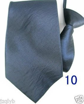 Free shipping 3pcs Upscale Fringe mens necktie zipper zip up neck tie