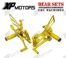 Buy Gold CNC Racing Foot pegs Adjustable Rearset Rear Sets BMW S1000RR 2009 2010 2011 2012 2013 2014 for $100.68 in AliExpress store