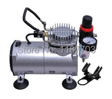 Mini Air Compressor TC20B Portable Airbrush Compressor for Painting Tatoo Water Filter