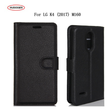 "Buy HUDOSSEN LG K4, 2017 LG K4 M160 Phone Case Protective PU Leather Wallet Flip Wallet Cover Fundas Coque LG K4 2017 5.0"" for $3.89 in AliExpress store"