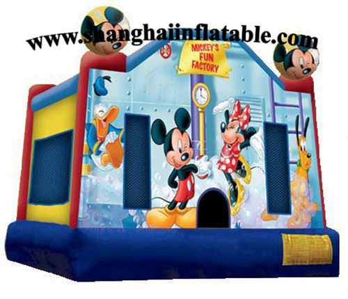 Customized Mouse bounce house indoor mini inflatable bouncy castle(China (Mainland))