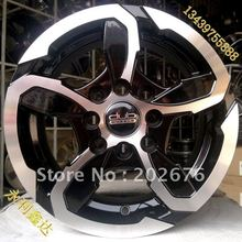 12-INCH, 13-INCH, DUB EXPLOSIVE BROADSIDE STYLE, SILVER ALLOY TUNING WHEEL RIM, 4X100, FOR QQ Alto Dipper Antelope(China (Mainland))