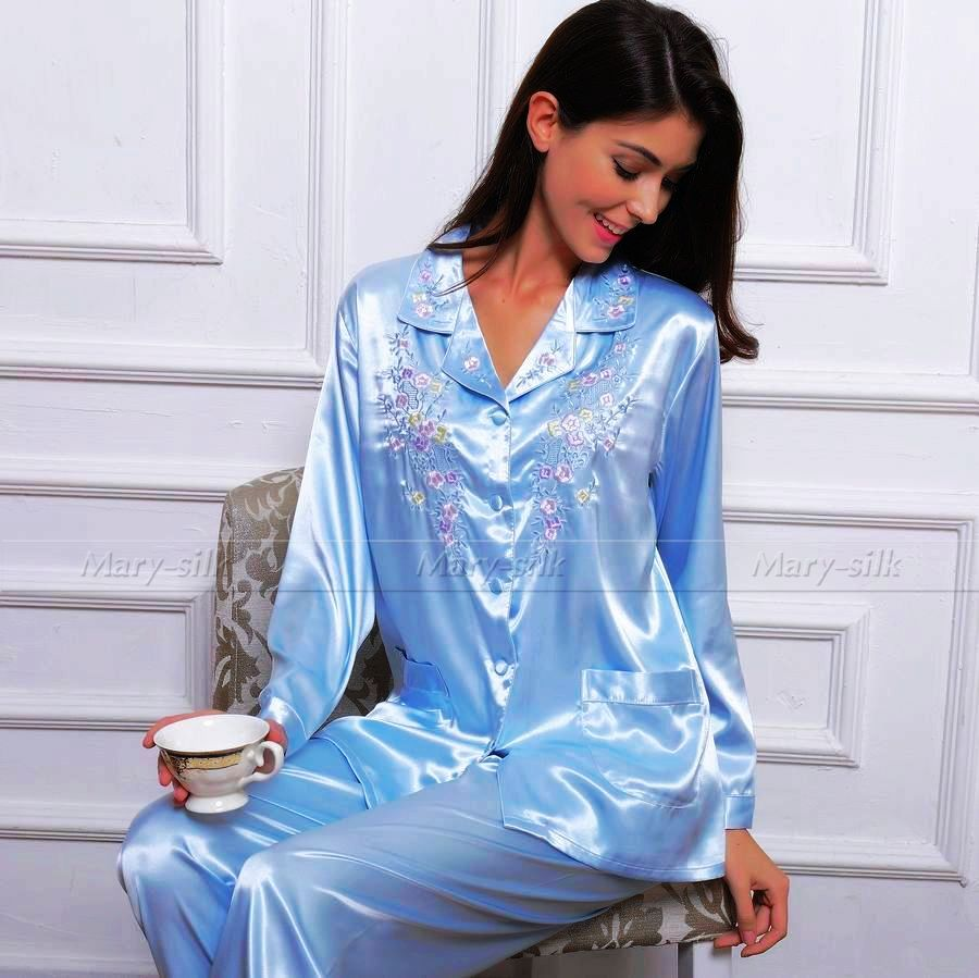 Buy best quality Silk pajamas set on sale, made of 22 momme mulberry silk in custom plus size. Free and fast shipping with % huge benefits.