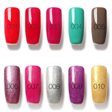 6 5ml 1Pcs 80Colors Nail Gel Long lasting Soak off Nail LED UV Summer Hot Nail
