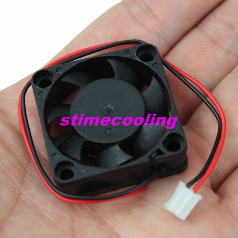 5 Pieces/Lot 3010 12V 2pin 3cm 30mm 30x30x10mm 7 blades DC Mini Brushless Cooling Fan(China (Mainland))