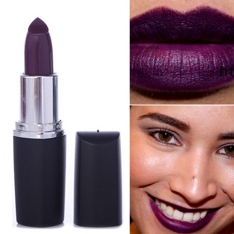 Cool Matte Moisturize Lip Gloss Pencil Waterproof Vampire Style Lady Lipstick(China (Mainland))