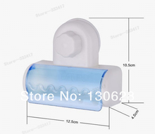 New Style Household Bathroom Toothbrush Sanitizer Suction Holder Home Stand Rack Plastic Set Into 5pcs toothbrushes[(China (Mainland))