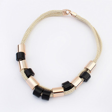 New 2015 Hot Selling European And American 4 Colours Fashion Necklaces Pendants Jewelry For Women
