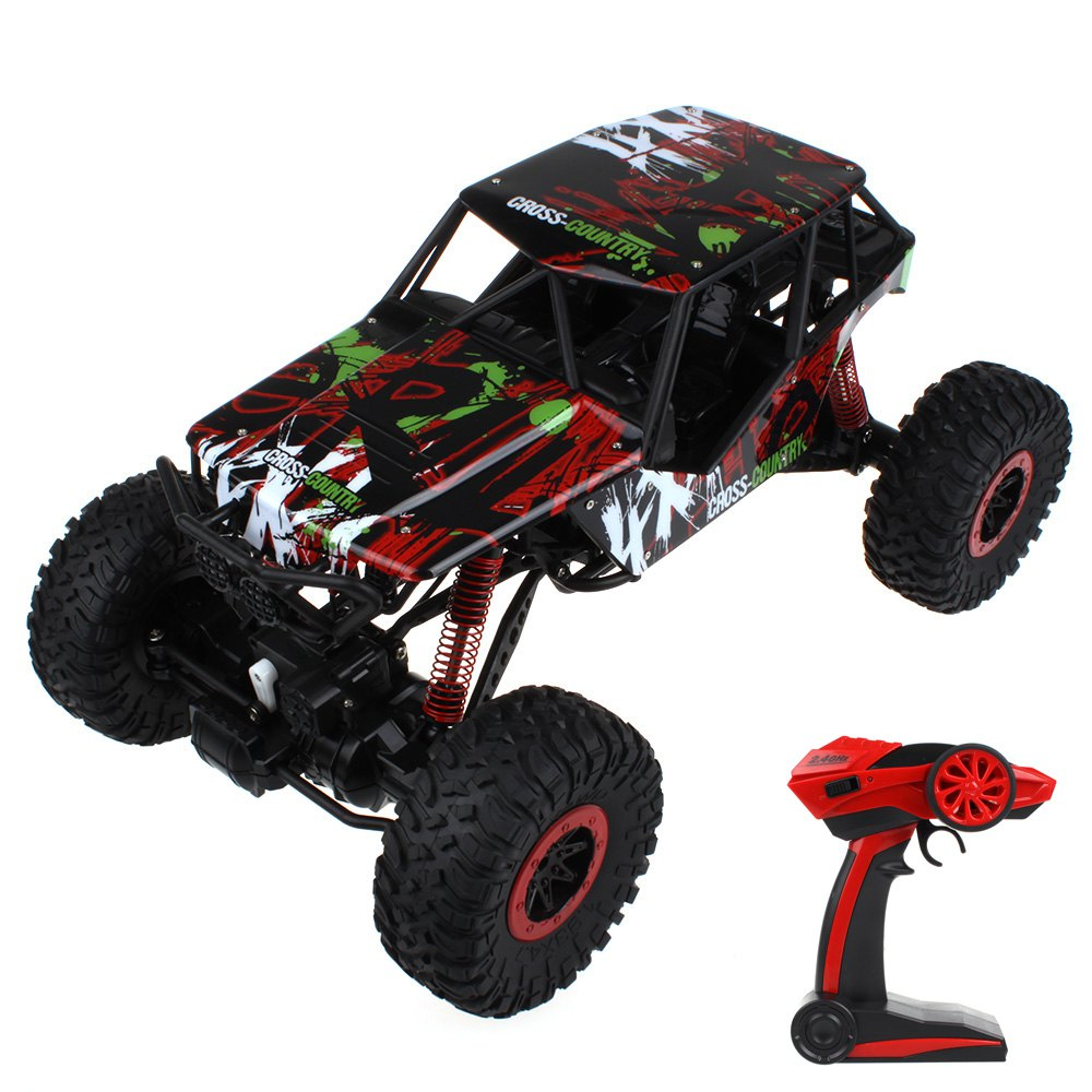 3 Fashion Colors Ready-to-go HB - P1003 Crawlers 4x4 Driving 2.4G Four wheel Drive Rally Car Exciting Game Toy(China (Mainland))