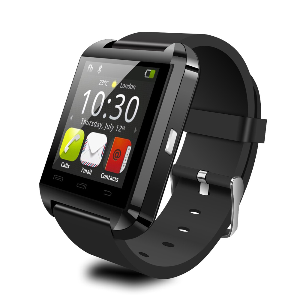 FLOVEME D1 Smart Bluetooth Watch Anti-lost Clock Calls SMS Sync Notifier iOS Android Remote Camera Heart Rate Music Passometer(China (Mainland))