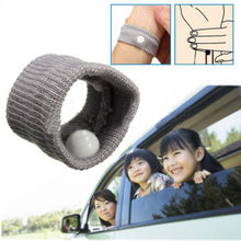 2pcs 2016 Hot Selling Travel Outdoor Car Sea Van Plane Wrist Band Anti Nausea Car Sickness Wrist Pulseira Seasick VC005 P0.5(China (Mainland))