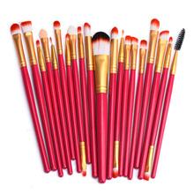 Buy 20 pcs Makeup Brush Set Make Pro Foundation Powder Blush Eyeshadow Eyeliner Lip Cosmetics Brush Kit Beauty Tools Beauty for $4.03 in AliExpress store