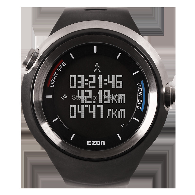 2015 Hot Selling EZON GPS Bluetooth Smart Intelligent Sports Running APP Altitude Mult-function Digital Watches Waterproof /G2(China (Mainland))