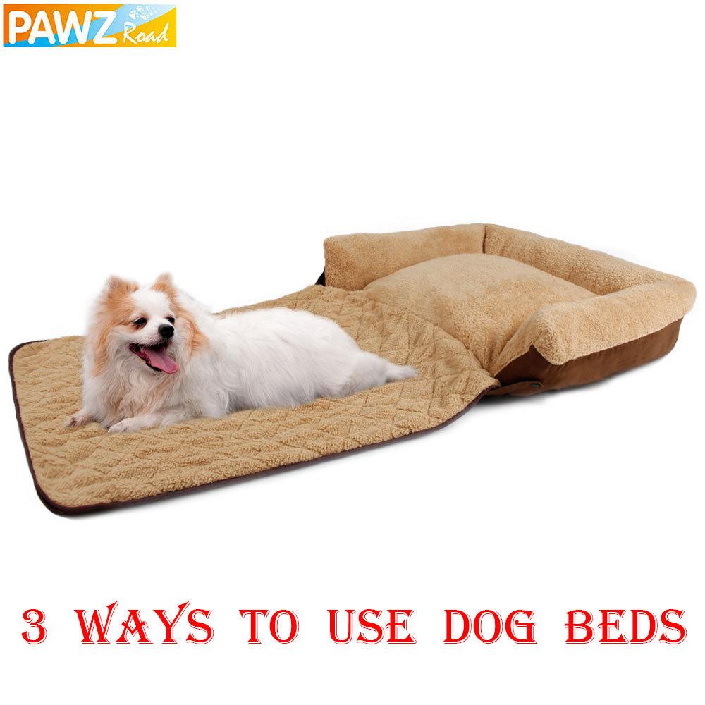 Send From US Warehouse Dog Sofa Pet/Cat Soft Warm Pet Funny Bed Dog Cushion Puppy Sofa 3 Ways Use(China (Mainland))