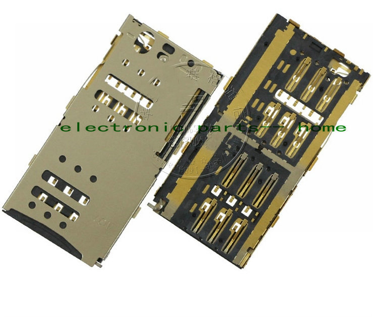 """1pcs New sim card slot adaptor Replacement Parts For MEIZU 5.5"""" Meilan note M1 M463U Moible phone"""