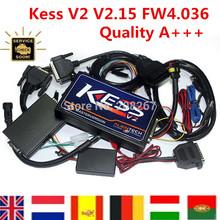 Самое лучшее качество KESS V2 OBD2 тюнинг комплект KESS V2 V2.15 прошивки V4.036 KESS V2 мастер версия бесплатная доставка