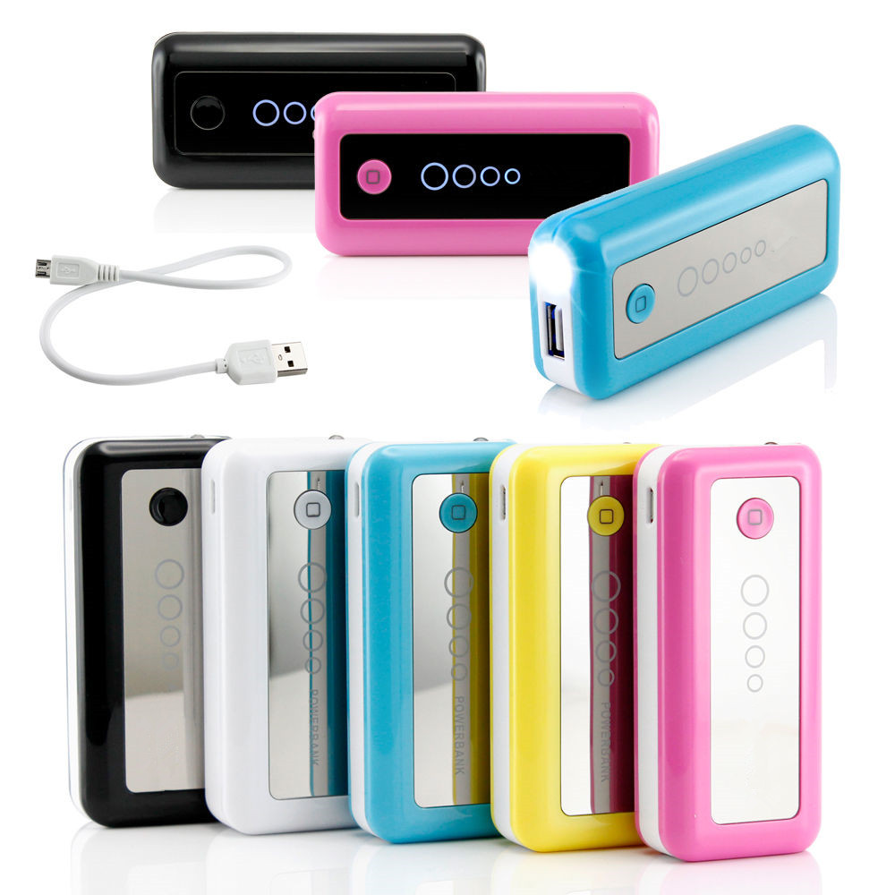 fashionable cheap portable power bank 5600 mah for smartphone(China (Mainland))