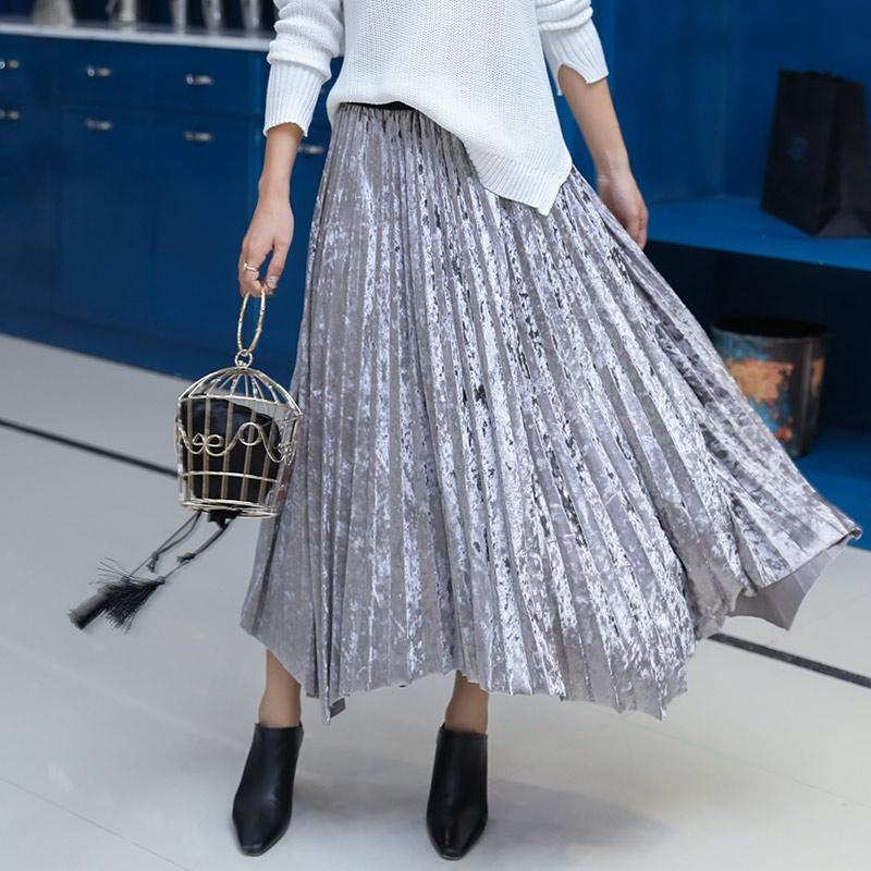Длинные юбки осень доставка