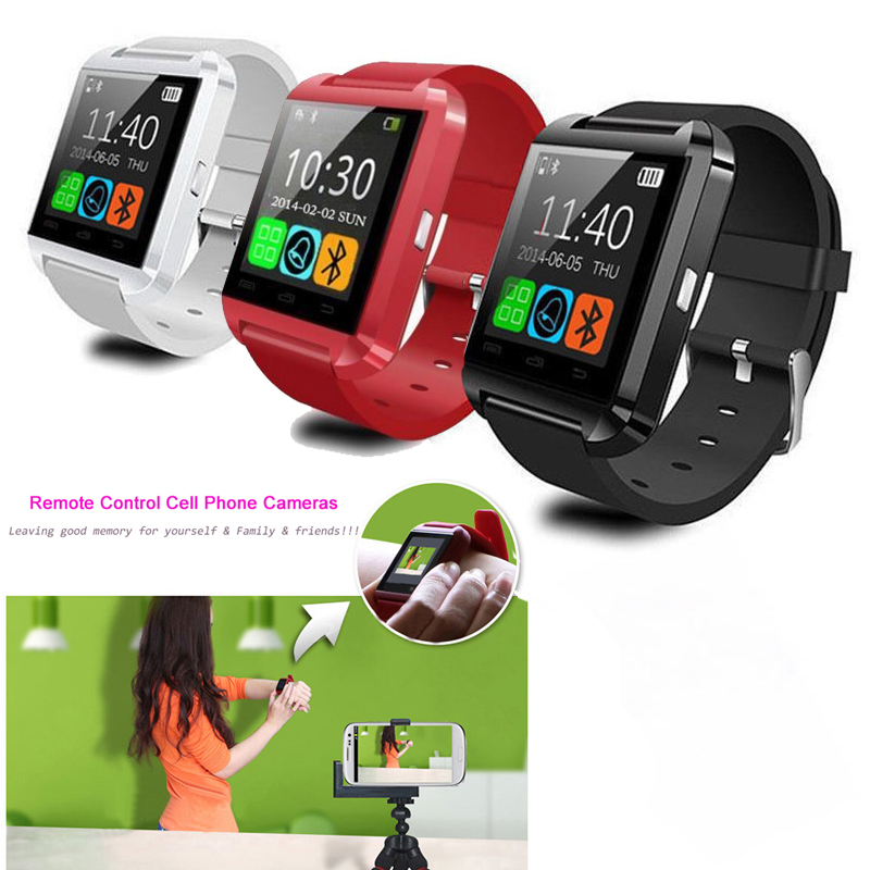 2015 U8 Watch Bluetooth Smartwatch WristWatch Wrist Wrap Handsfree iphone 6 5 5S Samsung Phone Android Retail box