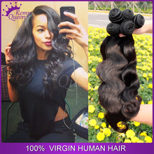 Remy Queen Hair Products 5Pcs Lots Malaysian Virgin Hair Extension Body Wave Unprocessed Human Hair Weaves Bundles Shipping Free(China (Mainland))